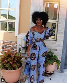 Rock the Latest Ankara Jumpsuit Styles these ankara jumpsuit styles and designs are the classiest in the fashion world today. try these Latest Ankara Jumpsuit Styles 2018 African Fashion Ankara, African Fashion Designers, African Inspired Fashion, African Print Fashion, Africa Fashion, Fashion Prints, Nigerian Fashion Dresses, African Fashion Traditional, African Print Jumpsuit