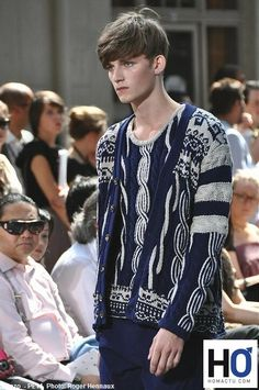 Knitwear Men. Veste Kenzo
