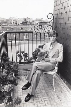 Anonym, David Bowie, Paris , 1977