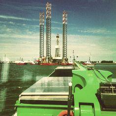 """#nlrtm #rotterdam #botlek #boat #binnenvaart"""