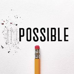Making impossible possible. Type by @joey_bearbower | #typegang if you would like to be featured | typegang.com by type.gang