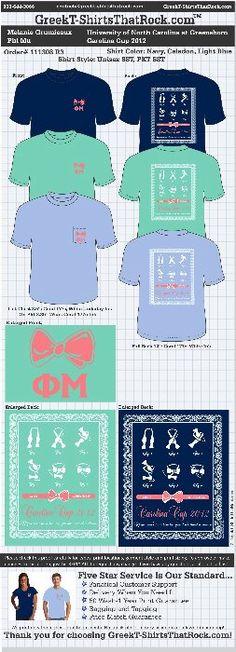 Cute ~ Phi Mu shirt  http://www.greekt-shirtsthatrock.com/