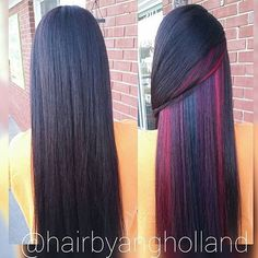 61 Trendy Hair Color Balayage Peek A Boo Pastel Hair, Purple Hair, Peekaboo Hair Colors, Underlights Hair, Pinterest Hair, Hair Color Balayage, Mermaid Hair, Rainbow Hair, Cool Hair Color