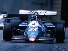 Jarier at Monaco 1983