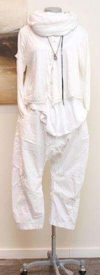 stilecht - mode für frauen mit format... - nelly - Hose MERIA white - Sommer 2013