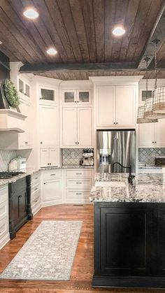 Like the feel of part of this kitchen.