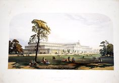 Revisiting the World's Fairs and International Expositions - Hyde Park 1851 First World's Fair - the building was after that transported and rebuilt in Crystal Palace (Sydhenam back then) were Ita was destroyed by the fire in 1936...the park is still beautiful though
