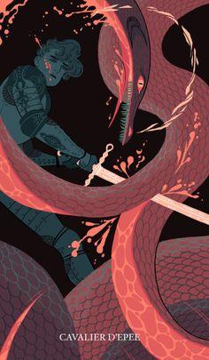"sarakipin: "" Knight of Swords """