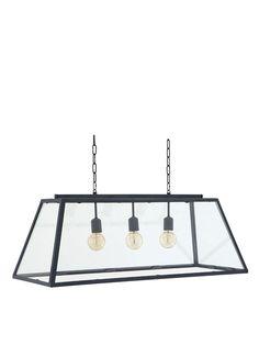 Eichholtz | Deckenlampe HARPERS mit Zinkrahmen