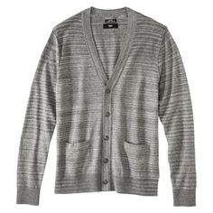 Mossimo Black® Men's Cardigan - Heather Gray Medium - $20