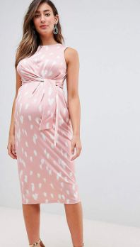I love this pink maternity dress! Great for work! Click this pin to find it at ASOS.com.  ASOS DESIGN Maternity knot front slinky dress in print, Maternity Fashion, Maternity Dress, Maternity Wardrobe, Maternity Style, Maternity Clothes, Maternity Office, Maternity Work Clothes, Maternity, Pregnancy, Belly, Bump, #affiliate #maternityworkclothes