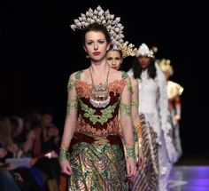 Asri Welas Fashion Show at Couture Fashion Week New York