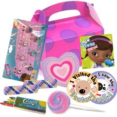 doc mcstuffins parties | Doc McStuffins Party: Loot Box Filled Party Supplies Canada - Open A ...