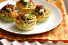 Southwest Omelet Cups- great for early mornings (I hope).prep on Sunday, eat all week. Breakfast Dishes, Breakfast Recipes, Breakfast Ideas, Breakfast Omelette, Paleo Recipes, Cooking Recipes, Muffin Recipes, Yummy Recipes, Free Recipes