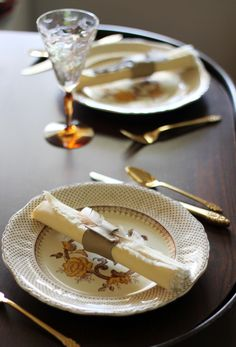 No Sew Leather Napkin Rings