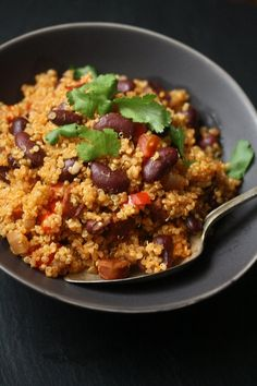 Easy Spanish Quinoa