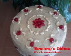 Browny's Cakes : Cashew frosting for cashew cake (crema pa bolo di ...