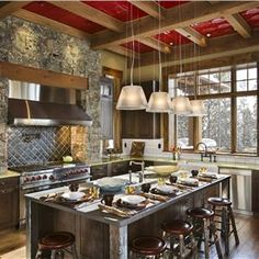 Rustic Country Kitchens | Country/Rustic (Country) Kitchen by Jerry Locati