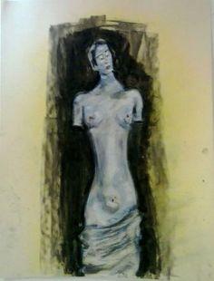 Comprar Estatua Mujer Torso Desnudo Female Nude Torso Statue - Pintura de Ben Reginald graphic artist por 182,00 EUR en Artelista.com, con gastos de envío y devolución gratuitos a todo el mundo