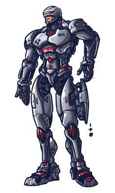 Robocop by petipoa.deviantart.com on @deviantART