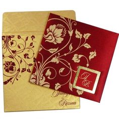Weddings are the most important part in everyone's life and Indian wedding cards are the first impression for your guests of occassion.