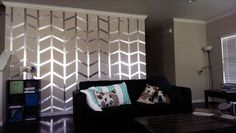 aluminum duct tape wall decor - Google Search