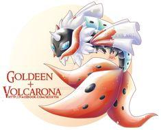[Adopt] Volcarona X Goldeen [Open] by Seoxys6