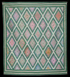 antique hexagon quilt