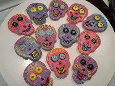 Skull Sugar Cookies!