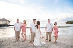 Beach Wedding Party Photos || PHOTO SOURCE • MELANIE BENNETT PHOTOGRAPHY