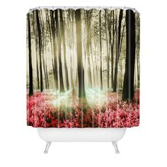Viviana Gonzalez Forest II Shower Curtain   DENY Designs Home Accessories #DENYWISHLIST