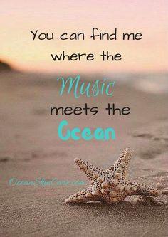 Where the music meets the ocean