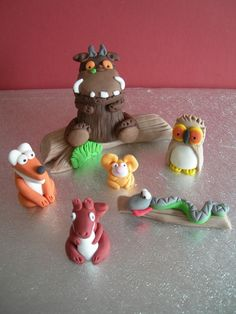 Gruffalo and Friends Topper | Cake Figures