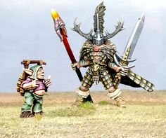 2000AD Armoured Warrior SLAINE and UKKO