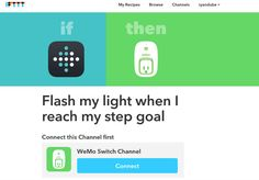Fitbit and IFTTT smartHome