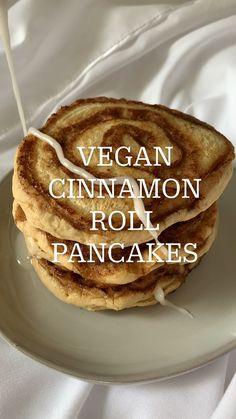 Fun Baking Recipes, Snack Recipes, Dessert Recipes, Cooking Recipes, Snacks, Vegan Breakfast Recipes, Vegan Recipes, Vegan Foods, Vegan Dishes