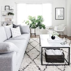 Monochrome Home. 🔳 We are so in love with local blogger @homeyohmy's home makeover with #westelm! Check out her blog for even more effortlessly chic inspiration..