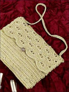crochet purse patterns free - Google Search