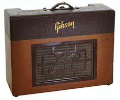 Musical Instruments:Amplifiers, PA, & Effects, Circa 1952 Gibson Les Paul Two-Tone Brown Guitar Amplifier... Image #1