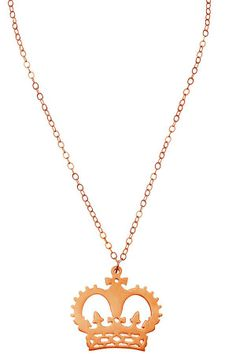 Psst! We've sneaked some new treats into Clearance. Is that a 18ct Rose Gold Crown Necklace we spy...? Shop now: http://www.tattydevine.com/shop/featured/clearance.html