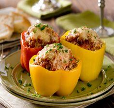 stuffed-peppers-with-cauliflower-artichoke-hearts