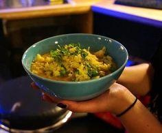 "every Thursday ""Volxküche"" with one vegan dish Vegan Dishes, Vegan Food, Vegan Recipes, Salzburg, Guacamole, Thursday, Restaurant, Ethnic Recipes, Culture"