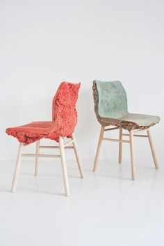 The Well Proven Chair by James Shaw and Marjan van Aubel.