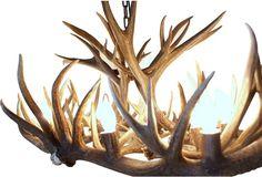 Custom Wyoming Oval Antler Chandelier