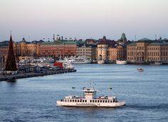 A Djurgården Ferry.