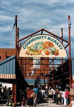 The Community Market, Downtown Lynchburg, VA