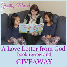 Greatly Blessed: A Love Letter from God book review and #giveaway