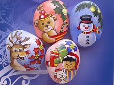 Reindeer, Christmas Party Bear, Snowman and Socks, Boy & Cat