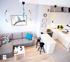 Decoracion de Sala-Comedor y Cocina en una Sola Habitacion (11)