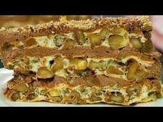 """Skosztując """"Tort królewski"""" - nie będziesz chciał innego deseru! Paleo, Keto, Russian Recipes, Something Sweet, Lasagna, Banana Bread, Sweet Tooth, Sandwiches, Food And Drink"""